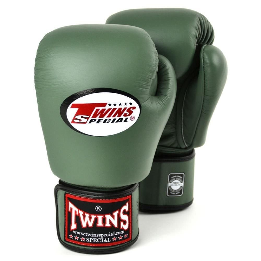 Twins Boxing Gloves green 12oz