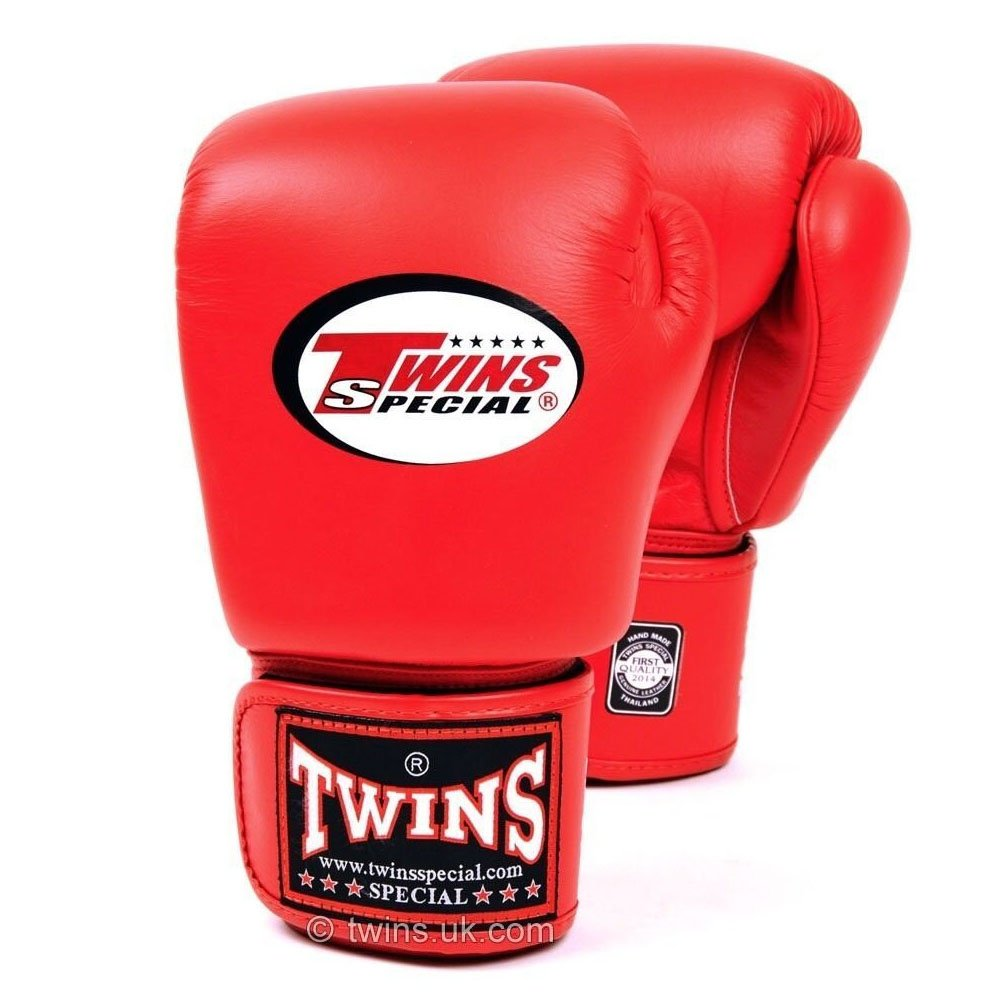 Twins Boxing Gloves red 12oz