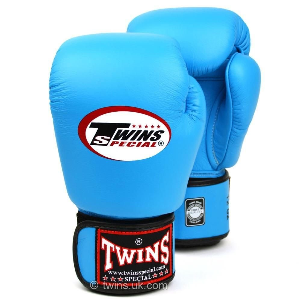 Twins Boxing Gloves sky-blue 12oz