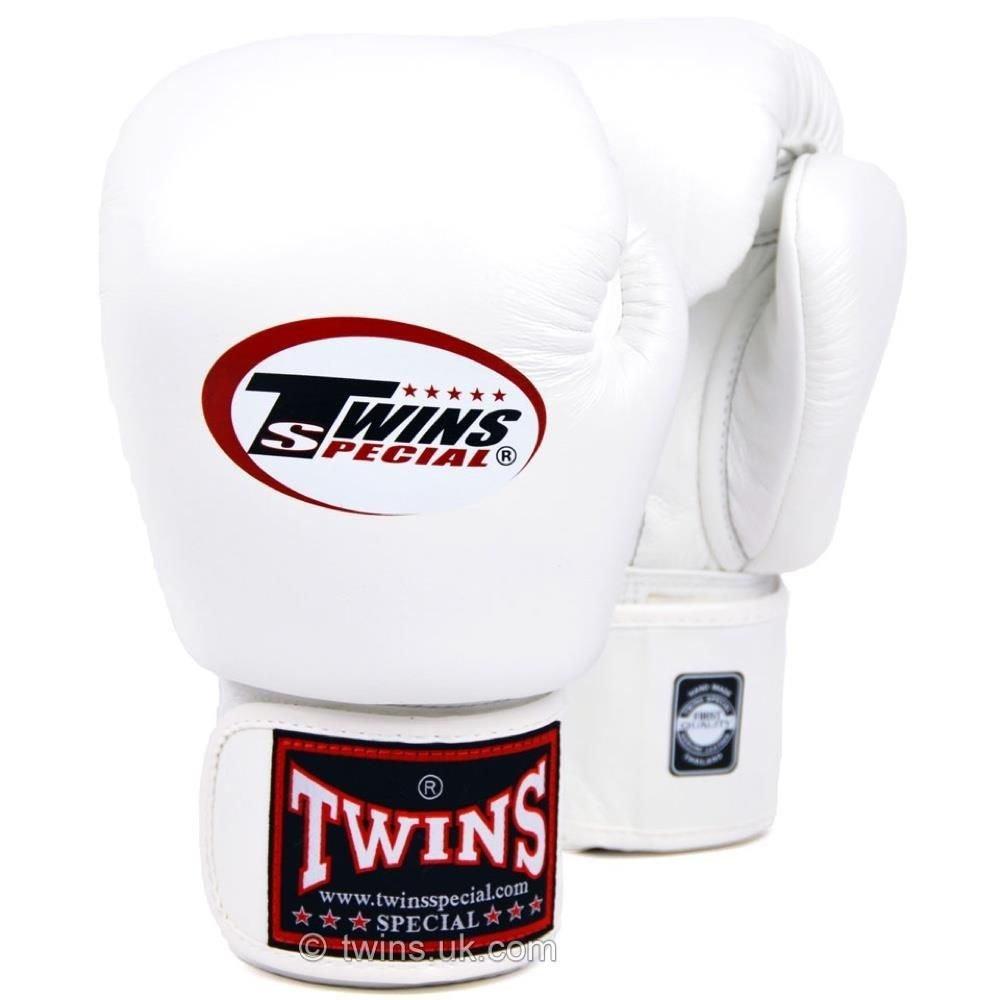 Twins Boxing Gloves white 12oz
