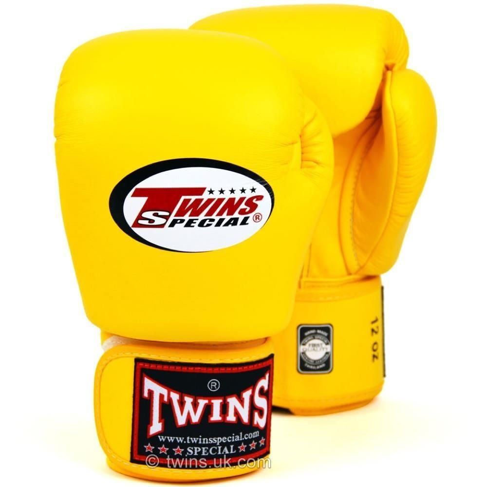 Twins Boxing Gloves yellow 12oz
