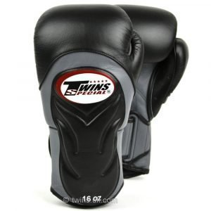 Twins Deluxe Sparring Gloves - Black