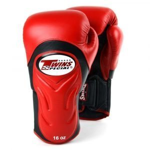 Twins Deluxe Sparring Gloves - Red