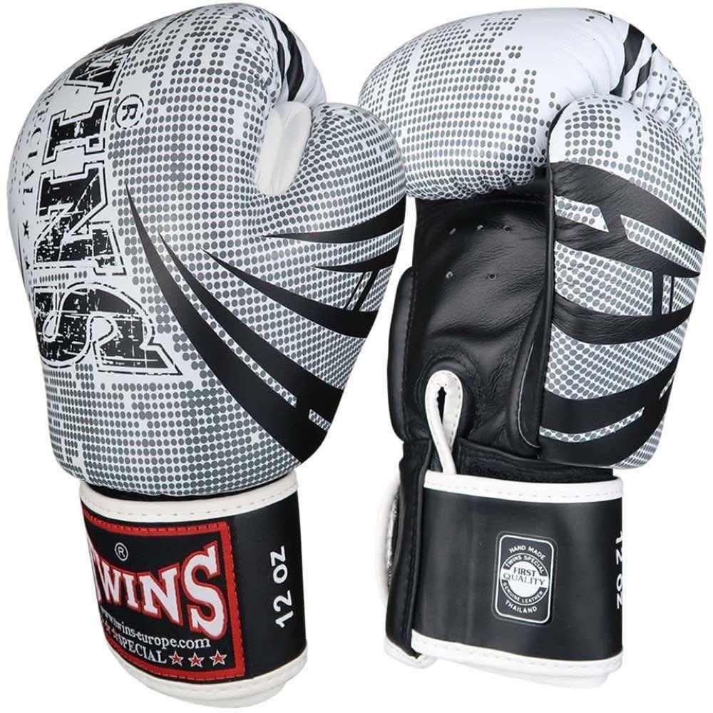 Twins Signature Boxing Gloves white 12oz