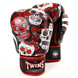 Twins Skull Boxing Gloves Set