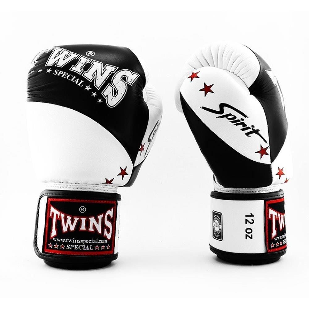 Twins Spirit Boxing Gloves black 12oz
