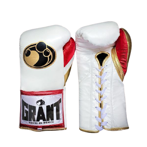 White Grant Boxing gloves