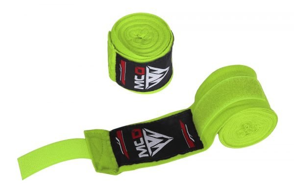 boxing hand wraps green