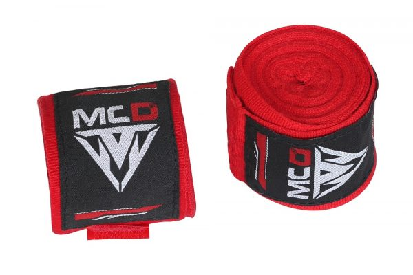 MCD boxing hand wraps red