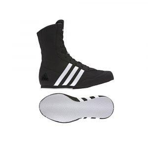 Adidas Box Hog 2 Black Mens Boxing Boot UK Size 3.5-5.5- JUNIOR