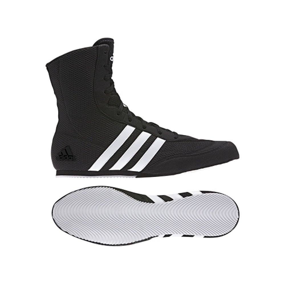 Adidas Box Hog 2 Black Mens Boxing Boot UK Size 6-14 Senior