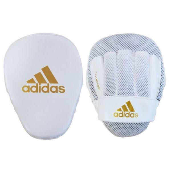 Adidas Speed Mesh Focus Mitts White