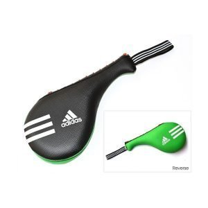 Adidas Taekwondo Double Target Pad Smaller Version - Black/Green