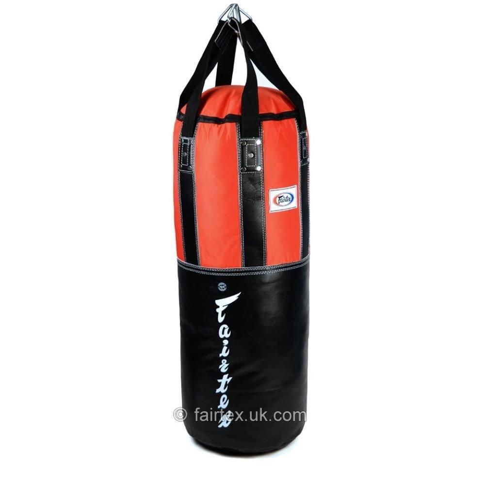 Fairtex Extra Large Leather Heavy Bag - Filled