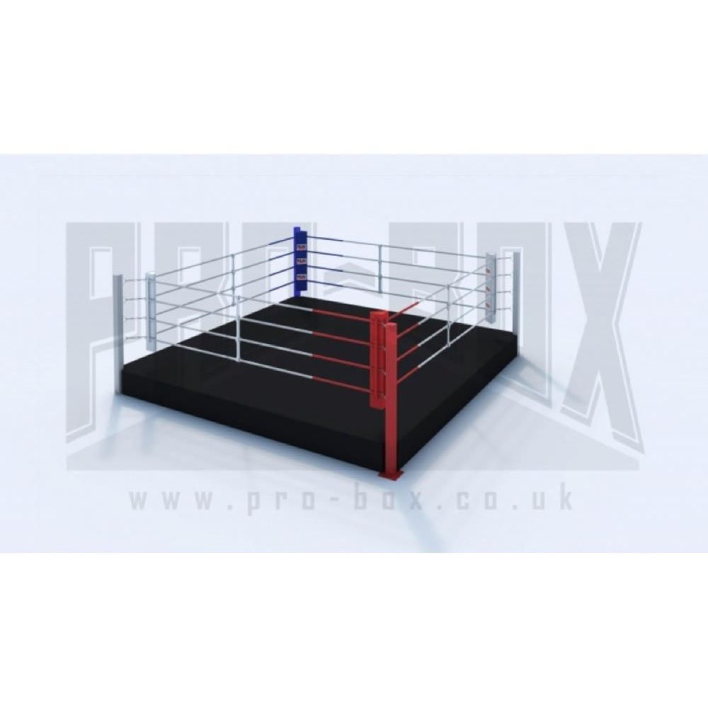 Pro Box Low Platform Boxing Ring Black