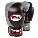 Twins 2 Tone Boxing Gloves - Black/Grey