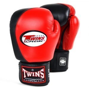 Twins 2 Tone BoxinTwins 2 Tone Boxing Gloves - Red/Blackg Gloves - Red/Black
