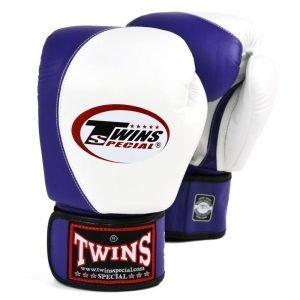 Twins 2 Tone Boxing Gloves - White/Purple