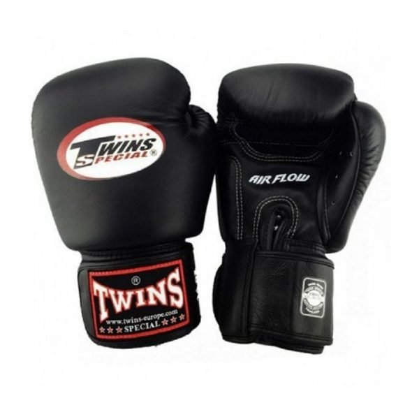 Twins Air Flow Boxing Gloves - Black