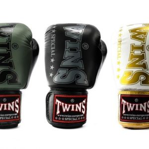Twins Giant Logo Boxing Gloves