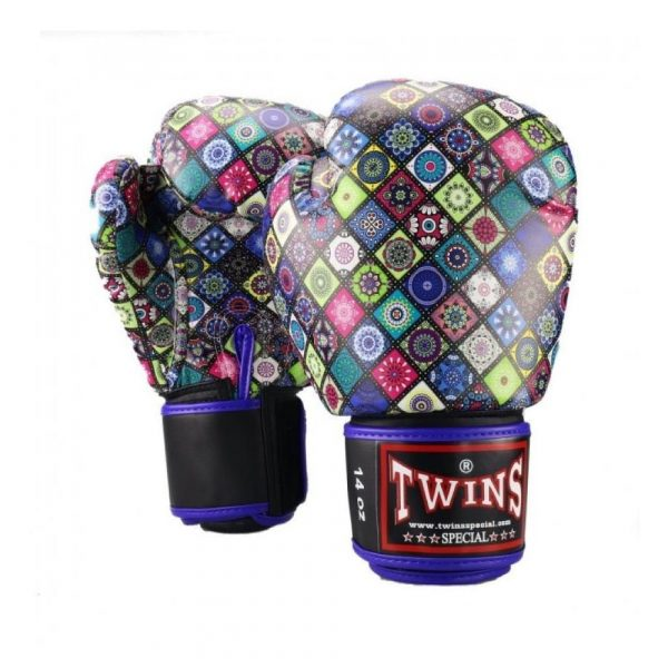 Twins Mosaic Boxing Gloves