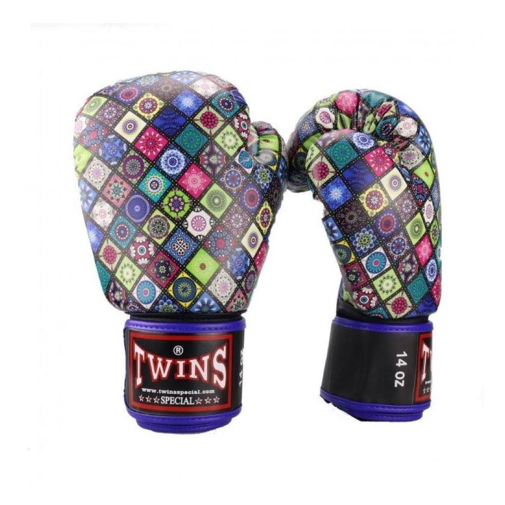 Twins Mosaic Boxing Gloves UK