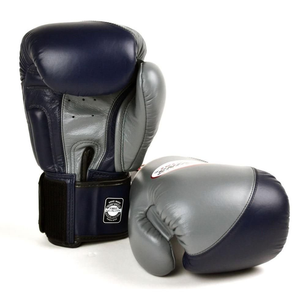 Twins Spcial 2 Tone Boxing Gloves - Grey/Navy