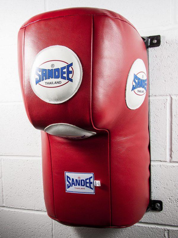 Sandee Full Leather Upper Cut Wall Unit