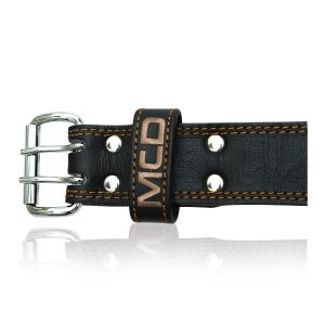 MCD Leather Gym Weighlifting Belt