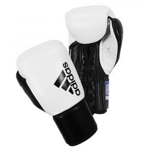 Adidas Hybrid 400 Pro Fight Boxing Gloves Black