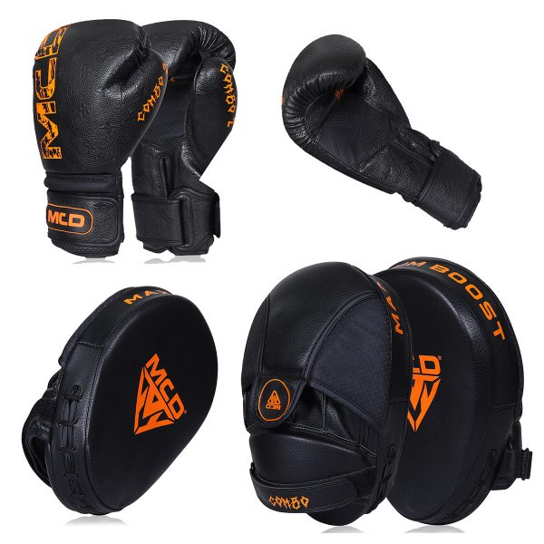 MCD Combo Boxing Gloves and Pads