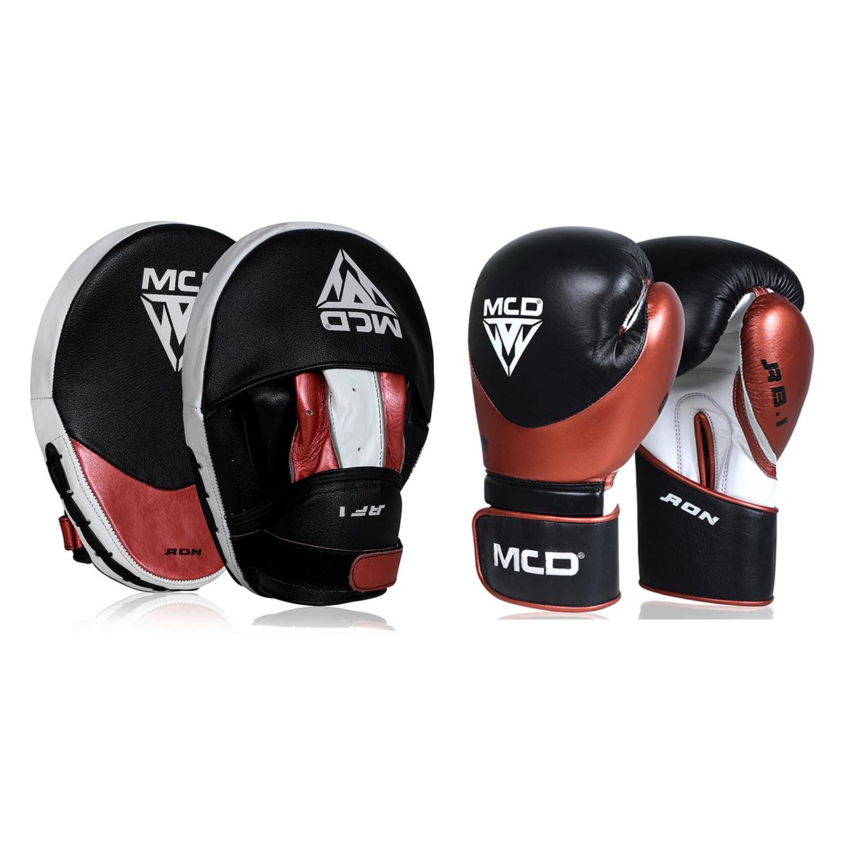 "Femmina | ""MCD Ron Series Boxing Gloves and Pads 10oz"""