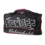 Sandee Large Heavy-Duty Black & Red Holdall / Gym Bag