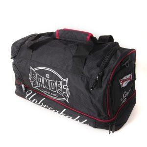 Sandee Medium Heavy-Duty Black & Red Holdall / Gym Bag
