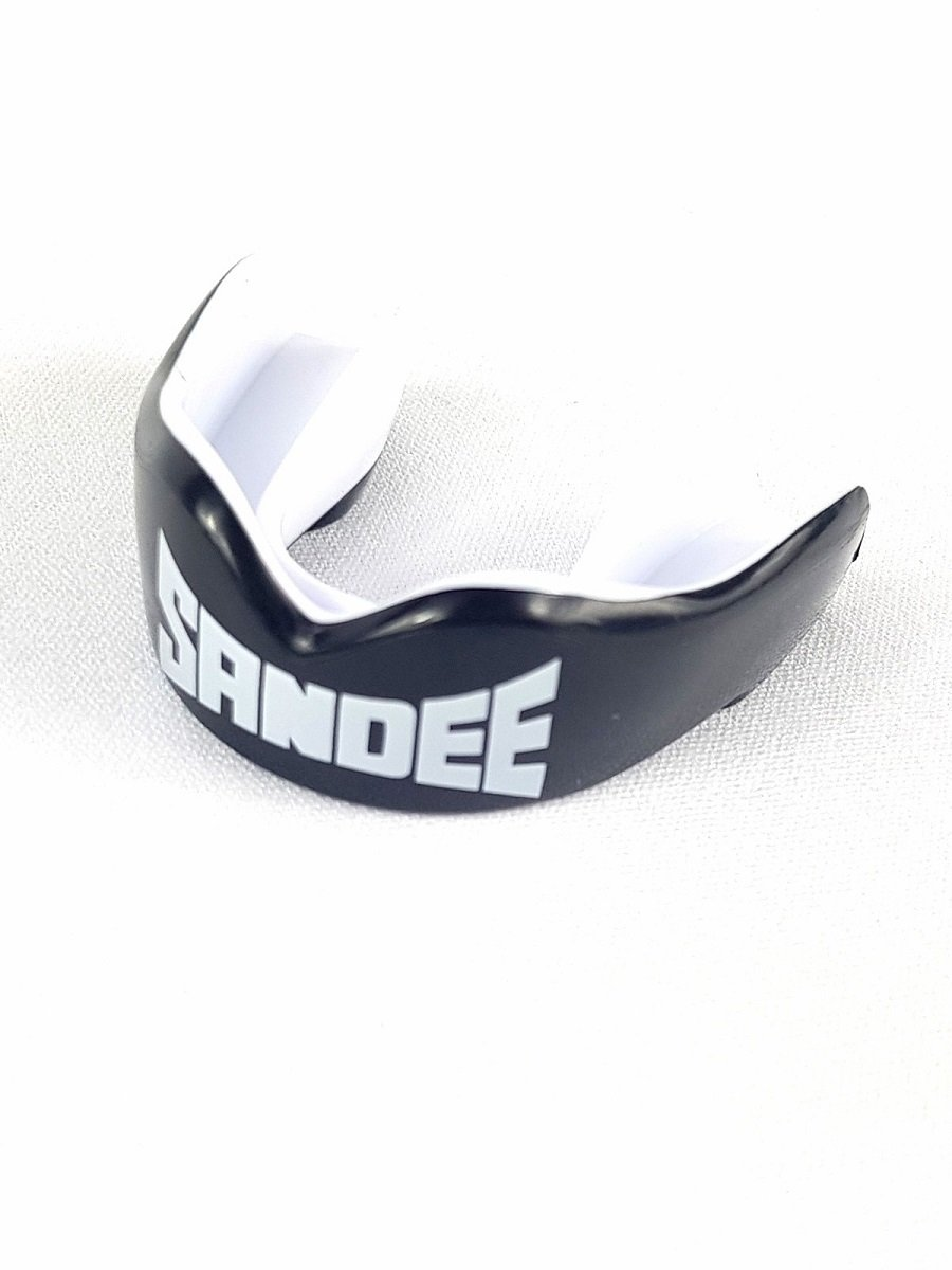 Image of Sandee ADULT Mouthguard - Black/White