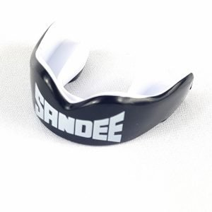 Sandee KIDS Mouthguard - Black/White