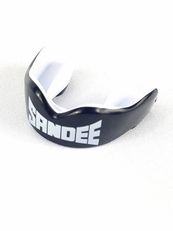 Sandee KIDS Mouthguard - Black/White