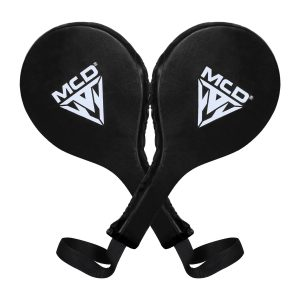 MCD Boxing Punch Paddles Black Leather