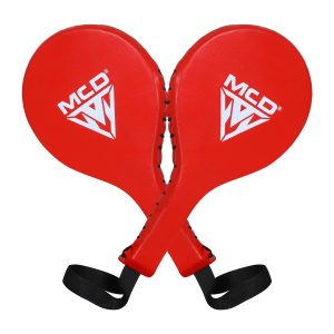 MCD Boxing Punch Paddles Red Leather