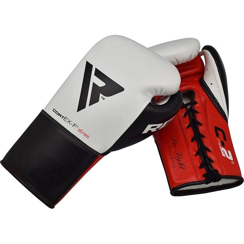 "Femmina   ""RDX C2 BBBofC Approved Fight Boxing Gloves white 8oz"""