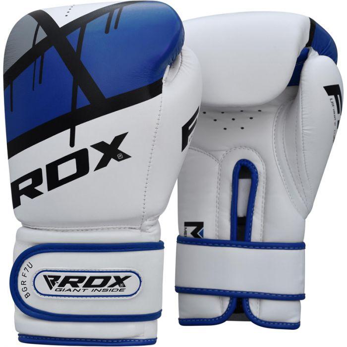 """Femmina   """"RDX F7 Boxing Gloves blue 14oz"""""""