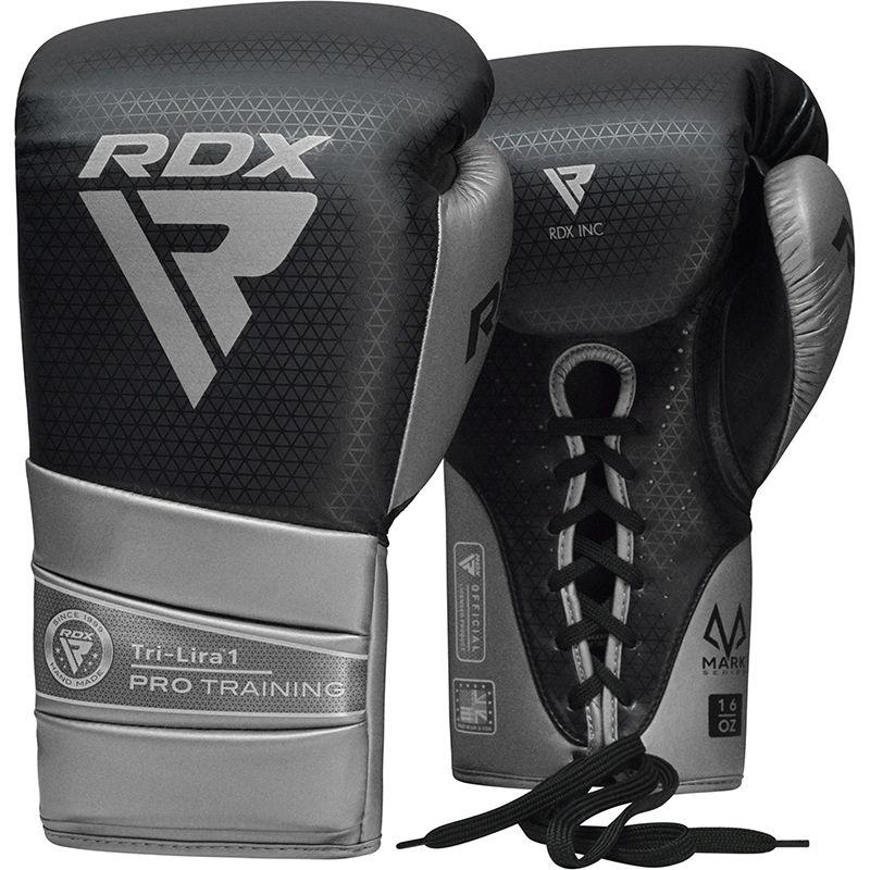 "Femmina   ""RDX L1 Mark Pro Training Boxing Gloves silver 10oz"""