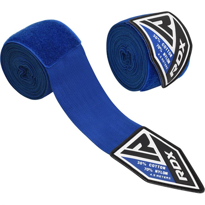 "Femmina   ""RDX Professional Boxing Hand Wraps blue"""