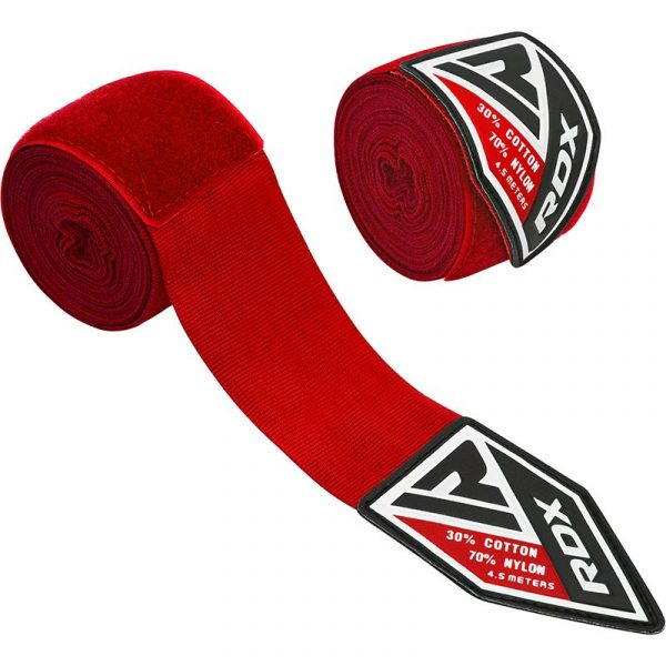 RDX Professional Boxing Hand Wraps Red