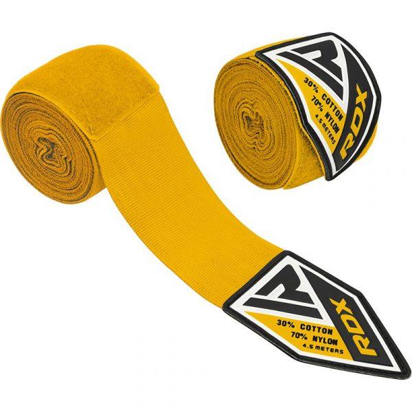 RDX Professional Boxing Hand Wraps Yellow