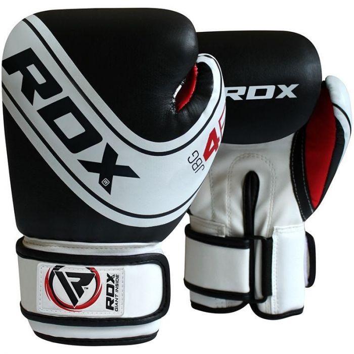 """Femmina   """"RDX Robo Kids Boxing Gloves White/Black 4oz"""""""