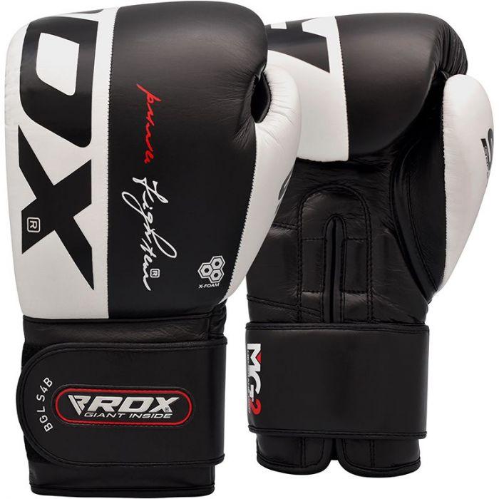 "Femmina   ""RDX S4 Leather Boxing Gloves 14oz"""