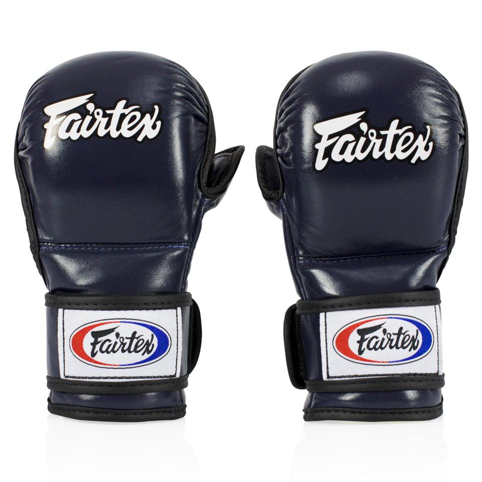 "Femmina | ""Fairtex MMA Sparring Gloves FGV15 Blue l"""