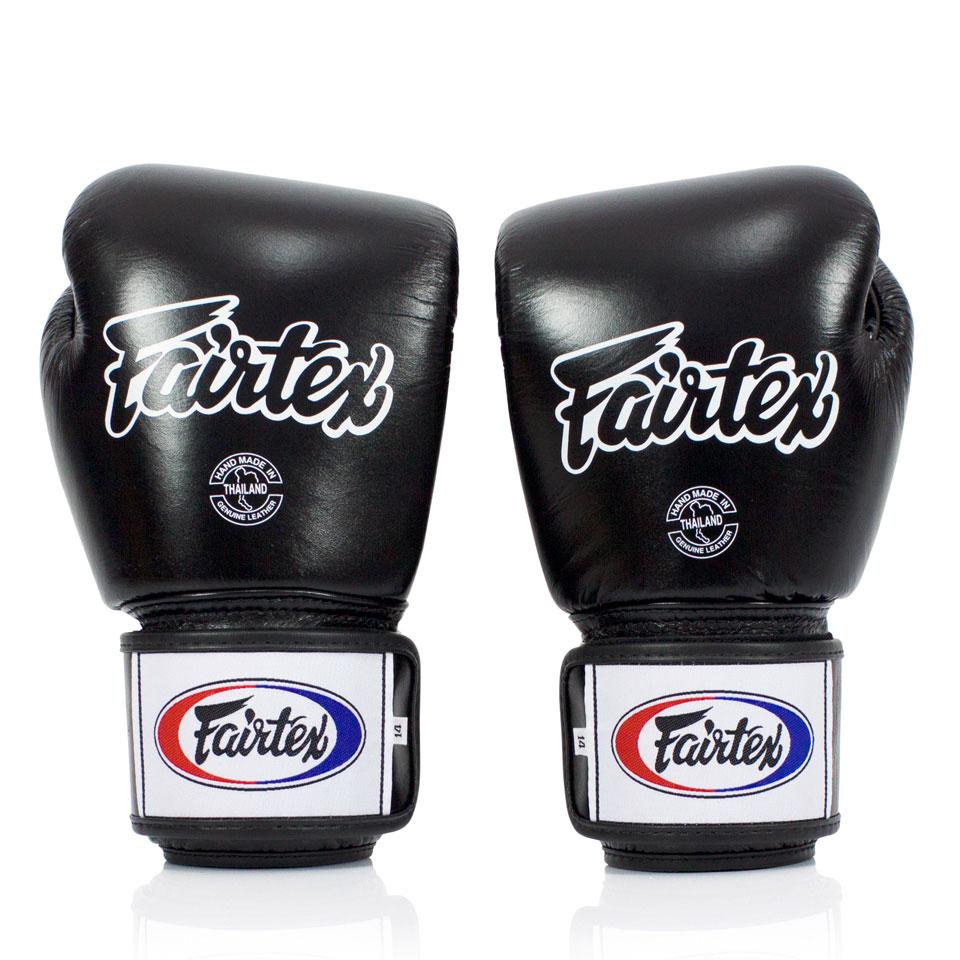 "Femmina | ""Fairtex Boxing Gloves Breathable BGV1-B Black 10oz"""