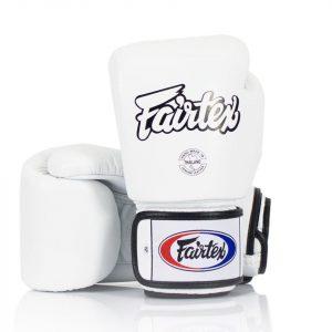 BGV1 Fairtex White Universal Gloves